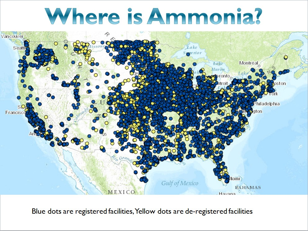 Where is all the Ammonia?