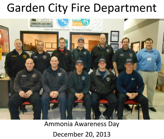 Garden City Ks Fire Department Ammonia Psm Rmp