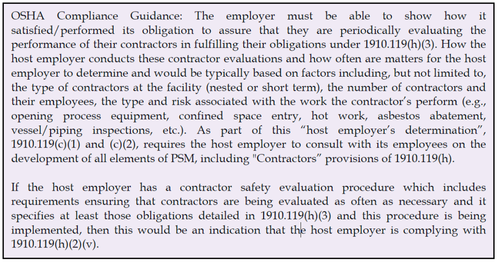 Contractor Qualifications?