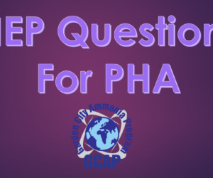 Part 3 of 4: NEP Questions PHA