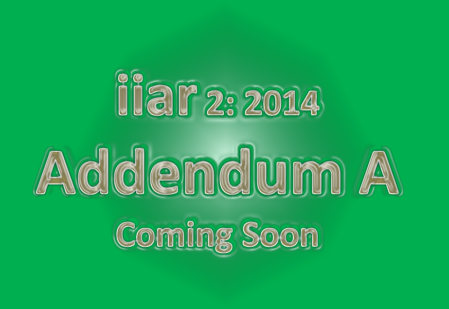 IIAR 2: Under Public Review