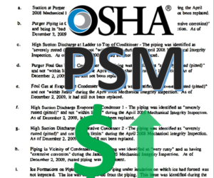 OSHA PSM Fines Increase for 2019