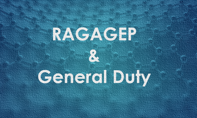 Does RAGAGEP apply to General Duty Facilities?
