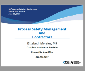 Process Safety Management and Contractors